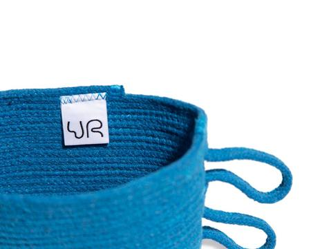 Ugly Rugly WILD WINGS BASKET - BLUE