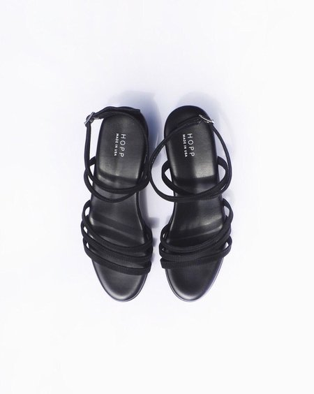 HOPP Wraparound Heel - black