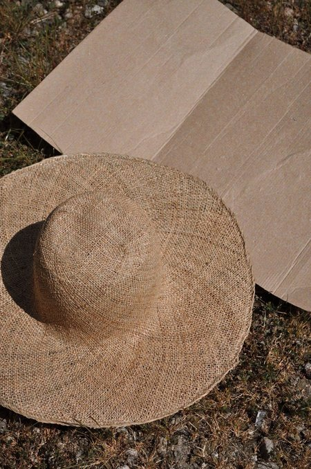 Brookes Boswell Beach Straw Hat - Seagrass