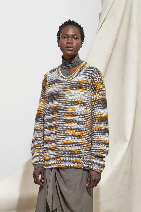 LAURA SEIGEL Hand Painted Sweater
