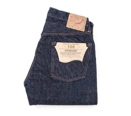 Orslow 105 Standard Fit Denim - One Wash