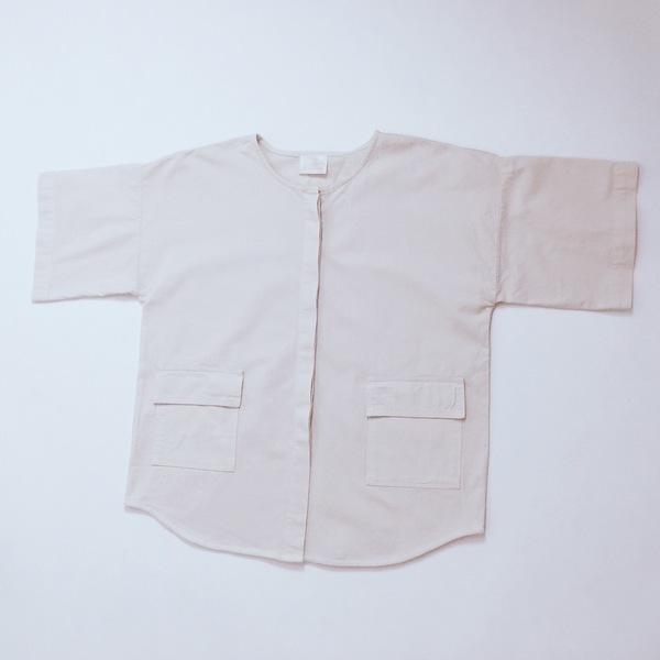 Atelier Delphine. Savannah Shirt Jacket-  Sakura