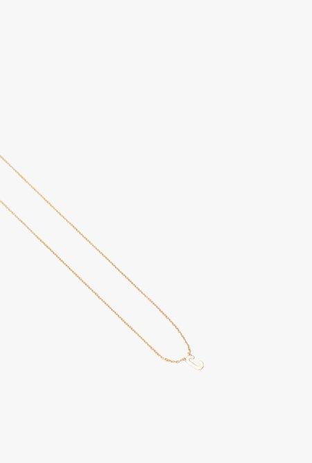 Gabriela Artigas Initial Necklace C