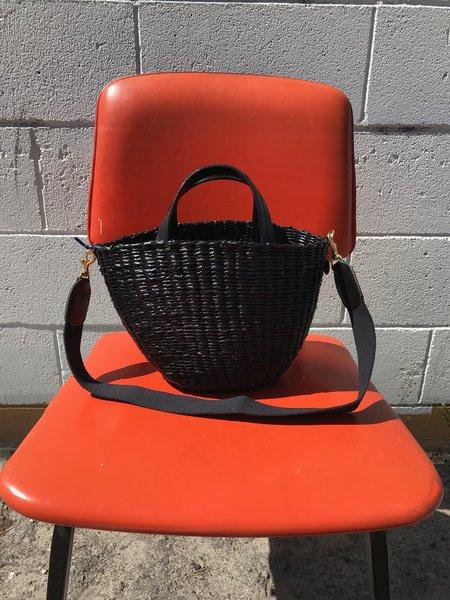 Clare V. Appoline Basket - Black