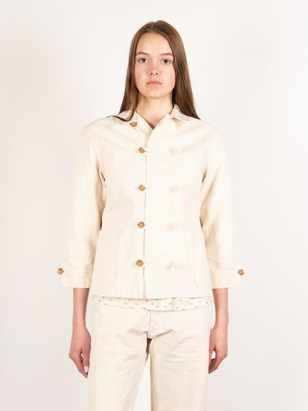 Caron Callahan Aaron Jacket - Cream Canvas