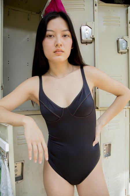 Baserange Como Swimsuit - black