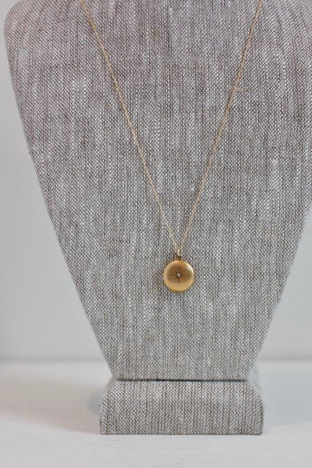 Vintage SASHA SAMUEL Isla Necklace - Gold