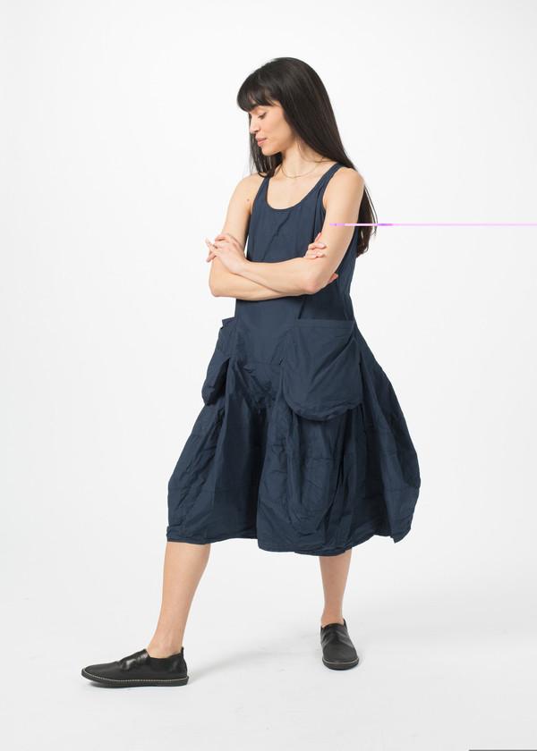 Rundholz BL Two Pocket Dress - Blue