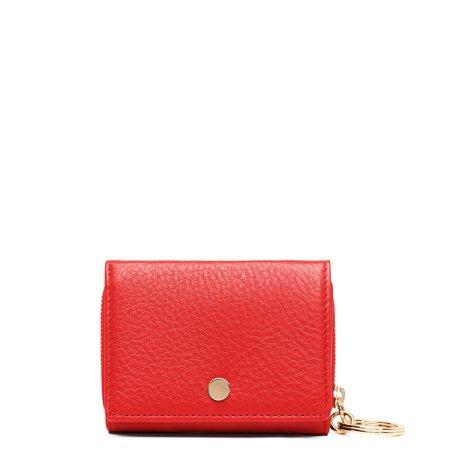 OAD Mini Zip Around Wallet - Scarlet