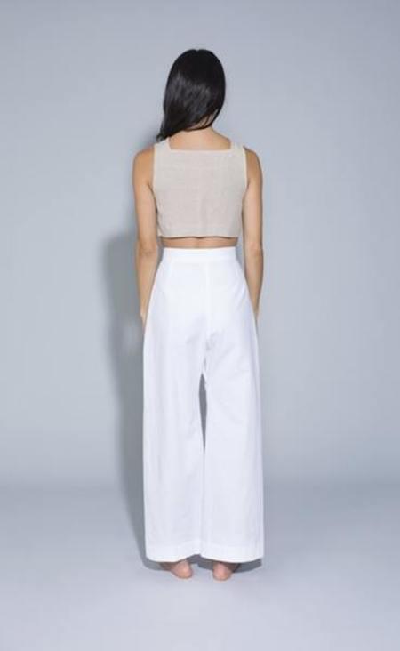 Ilana Kohn boyd pants - chalk