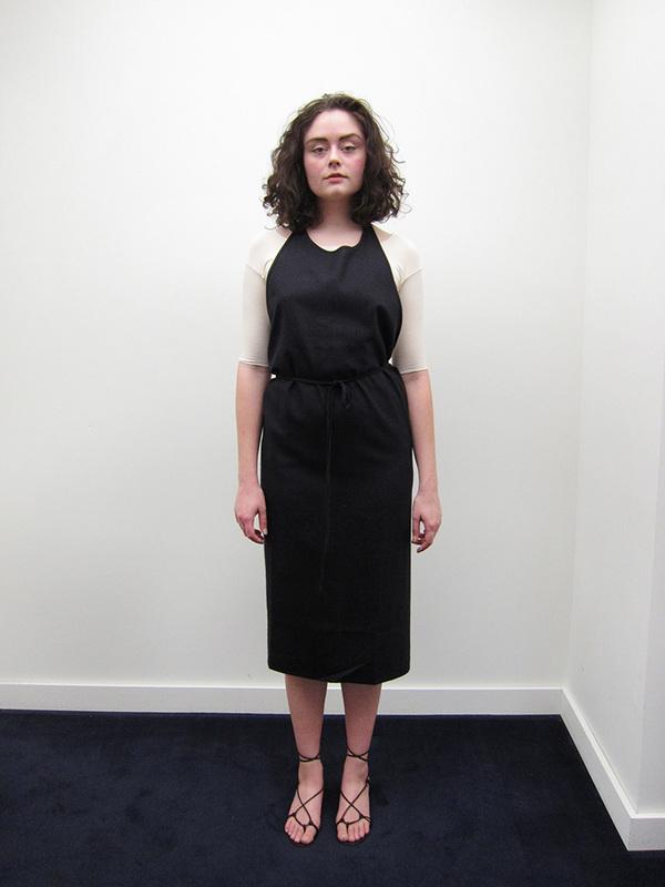 Baserange New Apron Dress, Black