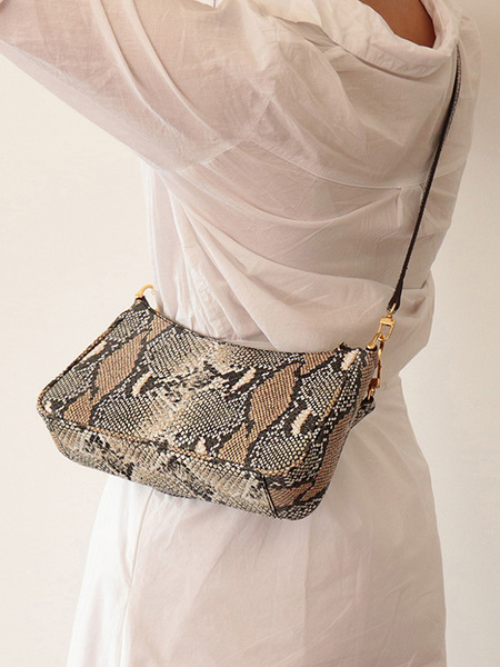 Morl Bonne Clutch Bag - Python