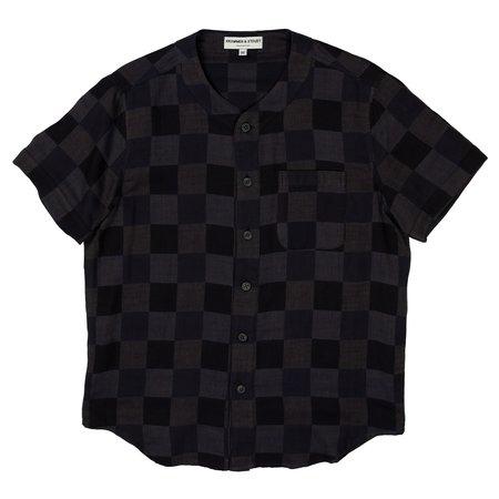 Krammer & Stoudt Baseball Shirt - Black/Navy Checkers