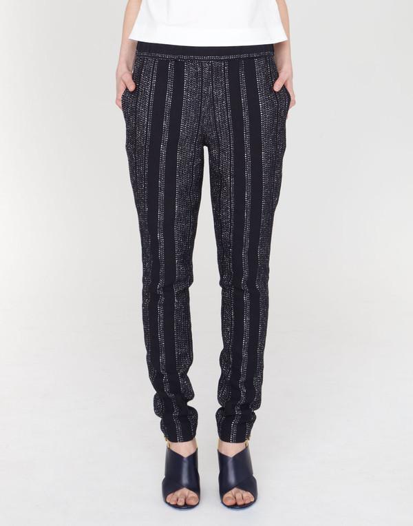Apiece Apart Luca Pants Black Lezat Stripe