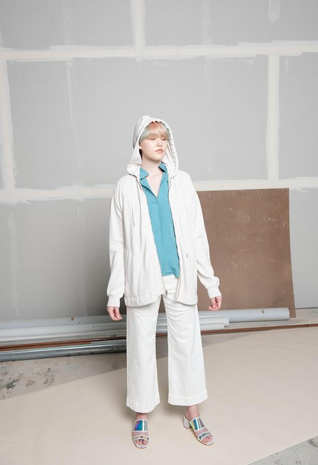 Rachel Comey Compose Hoodie - DIRTY WHITE