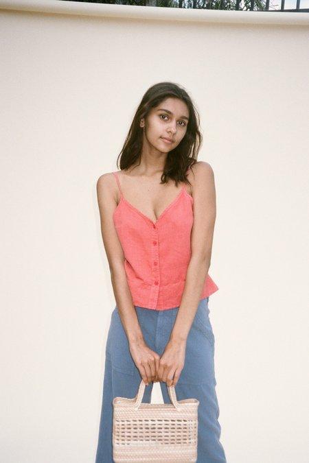 Lacausa Emilie Tank - Rhubarb