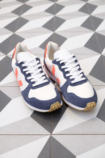 VEJA Holiday Rec Sneaker - Arctic Nautico/Orange