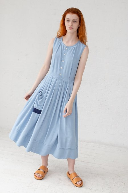 Visvim Pipa Sleeveless Dress - Light Blue