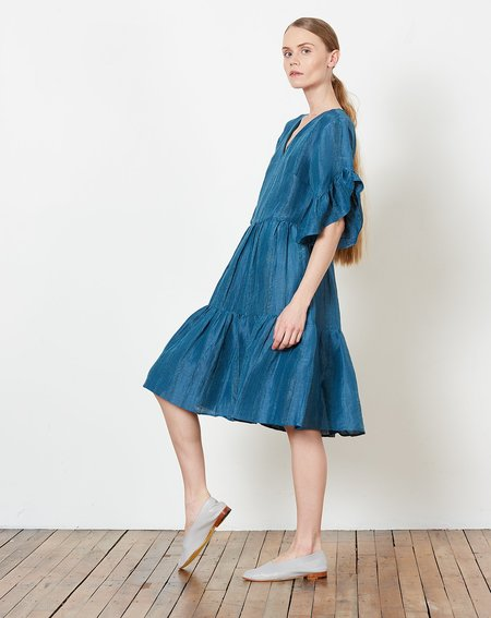 Maria Stanley Gayle Dress - Cerulean