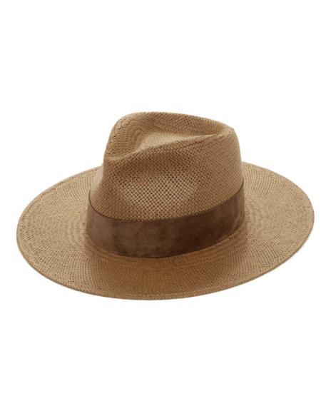Janessa Leone Luna Hat - BROWN