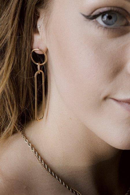Baleen Copula Earrings