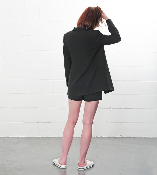 Ganni Black Moscow Tailor Blazer