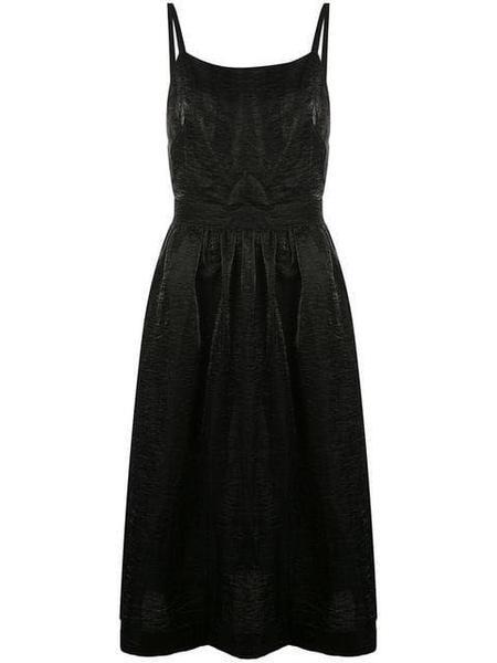 Kamperett ROMY DRESS - BLACK