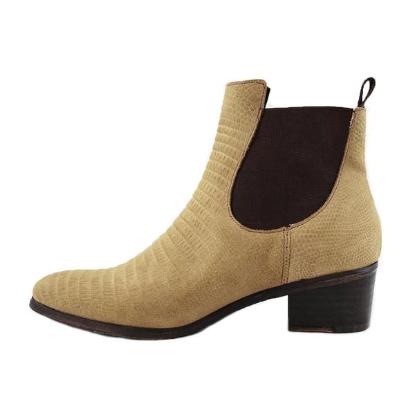 Cartel Footwear Bootie - Sarandi Lizard
