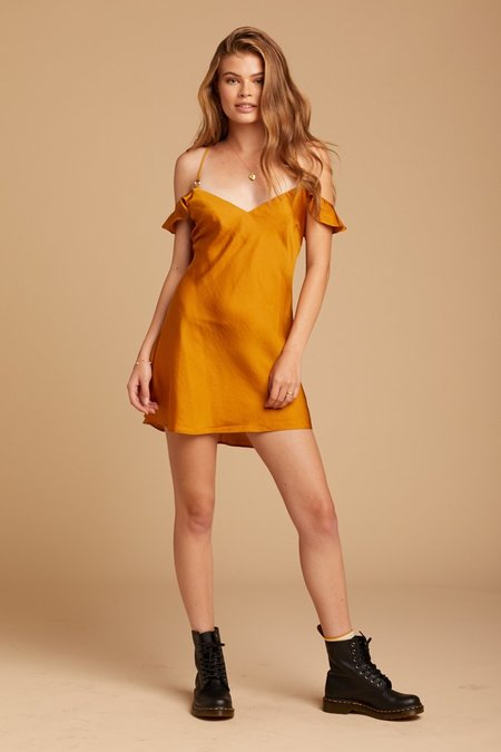 Free People What I Want Mini - Gold