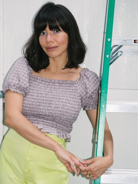 Samantha Pleet Toto Blouse
