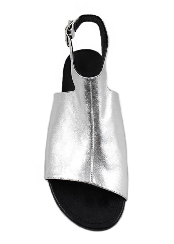 Cartel Footwear Sandal - Mata Silver