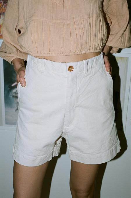Caron Callahan Greene Shorts - Cream