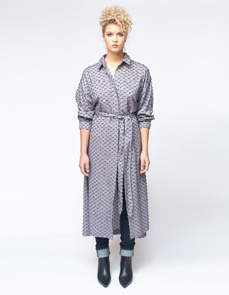 House Dress Kazuyo Dress - Storm Tuft