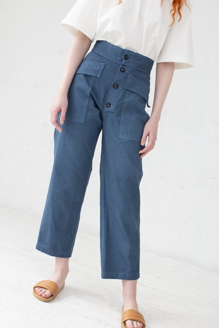 As Ever Cotton Tanker Pant - Twilight