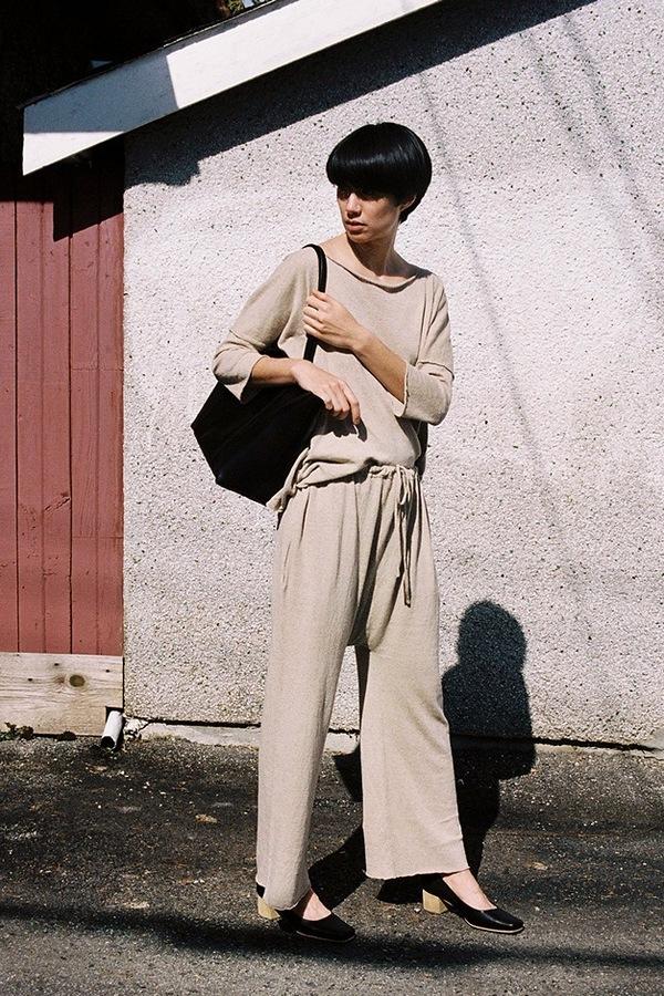 Lauren Manoogian Sack Pants - avena