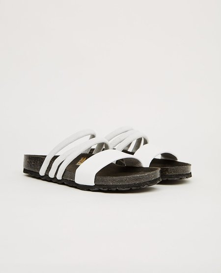 Shoe the Bear CARA PUFF SANDAL - white