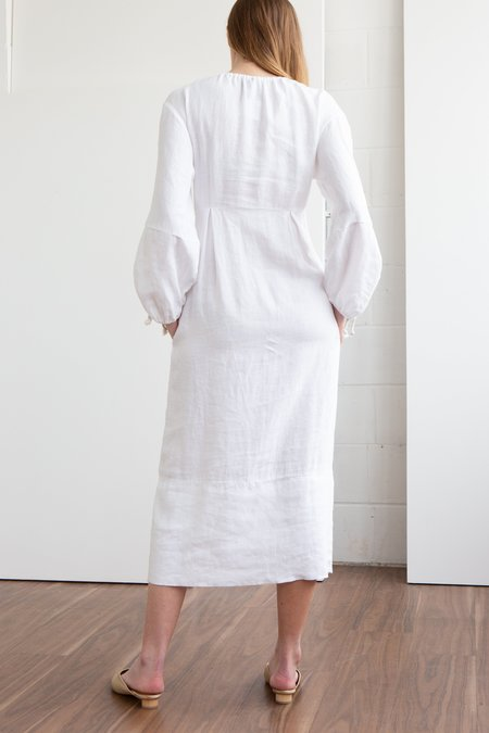 Happy Haus La Robe Boheme Dress - White
