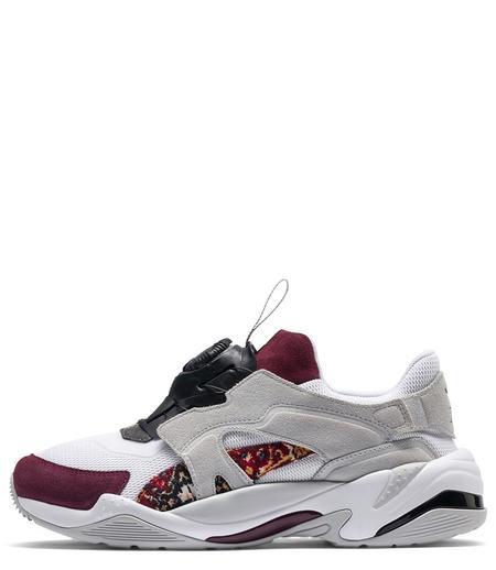 Puma Black Thunder Disc Les Benjamins Sneaker - White/Grey