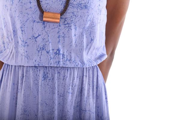 THE ODELLS Hi Slit Dress