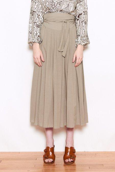 d79de11863 ... Black Crane Wrap Skirt - Sand