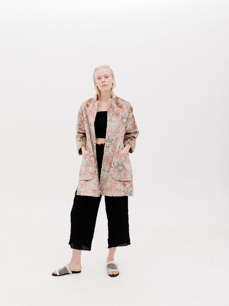 Priory Limited Edition Jacquard Range Jacket - Pink