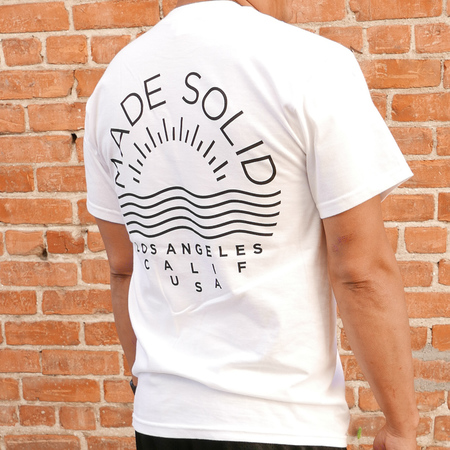 Made Solid Logo Tee - White