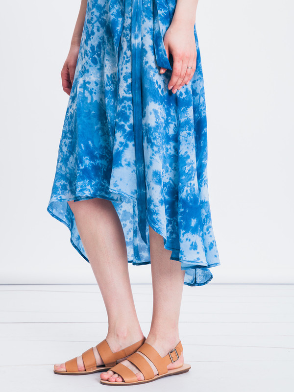 UPSTATE DUSTER WRAP DRESS