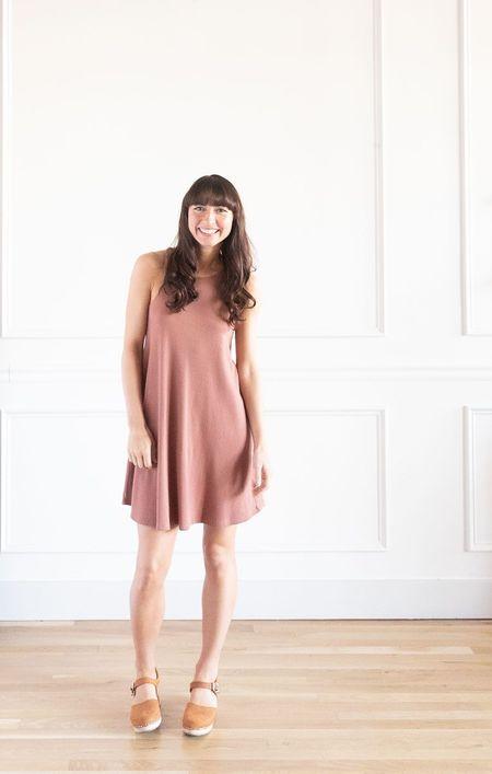 Known Supply Skye Dress - Mauve