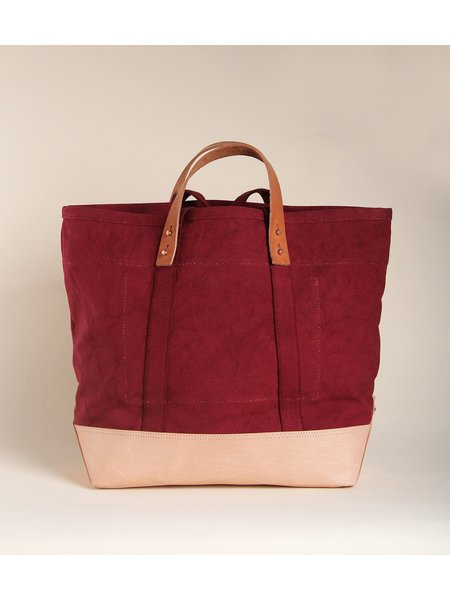 IMMODEST COTTON East West Bucket Tote