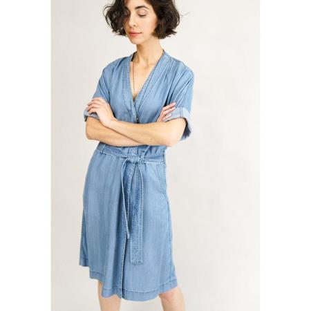 Closed Lyocell Dress - Denim Blue