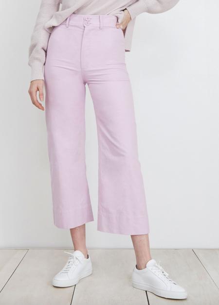 Apiece Apart Merida Pant - Lilac