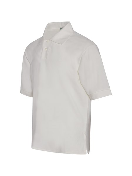 Fred Perry x Margaret Howell Pique Shirt - Soft White