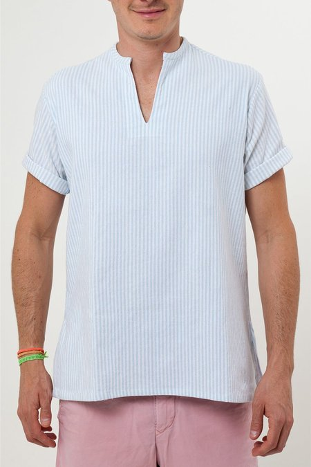 Santa Lupita The Riviera Shirt - Light Blue