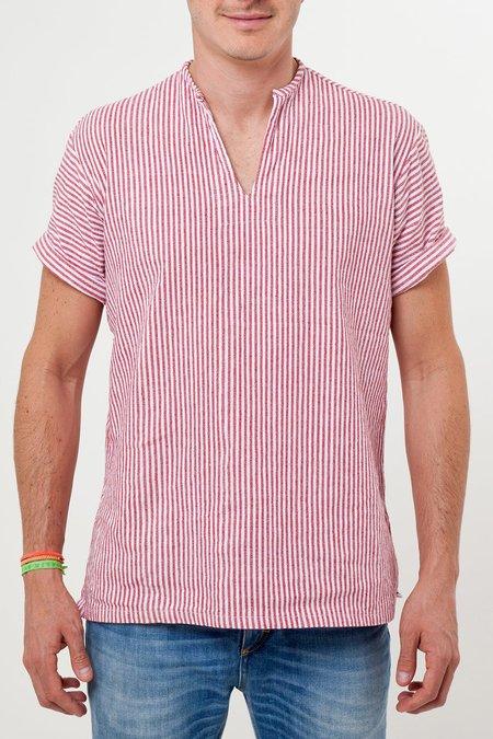 Santa Lupita The Riviera Shirt - Red